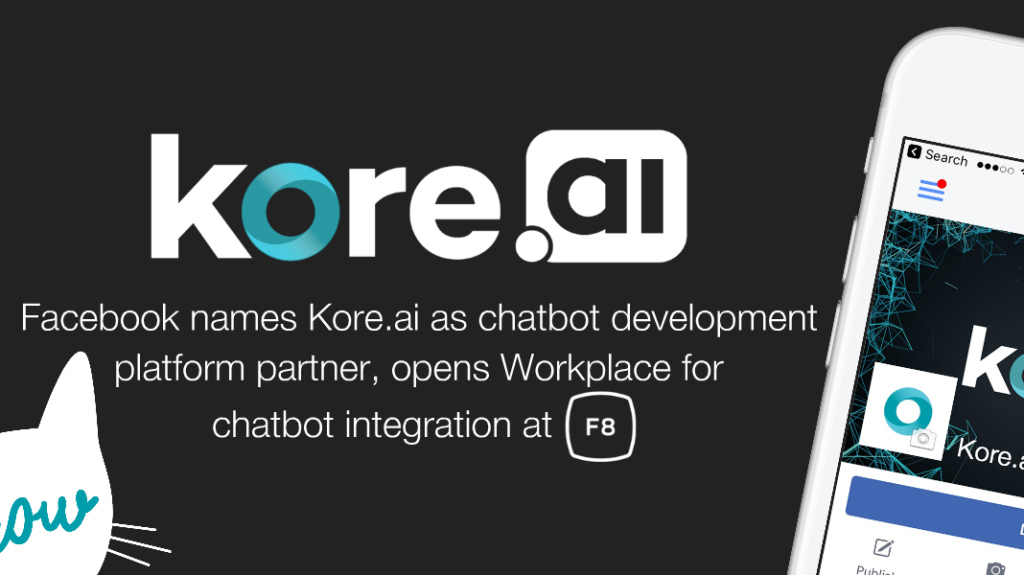 Facebook partners with Kore for bot development